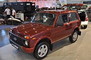 Lada Niva Russian off-road vehicle