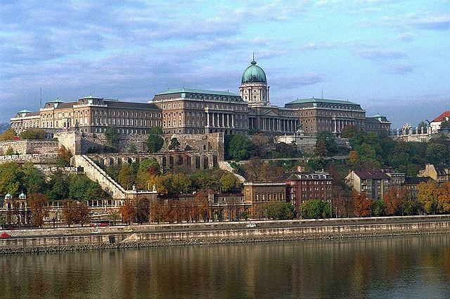The magnificent Buda Castle.