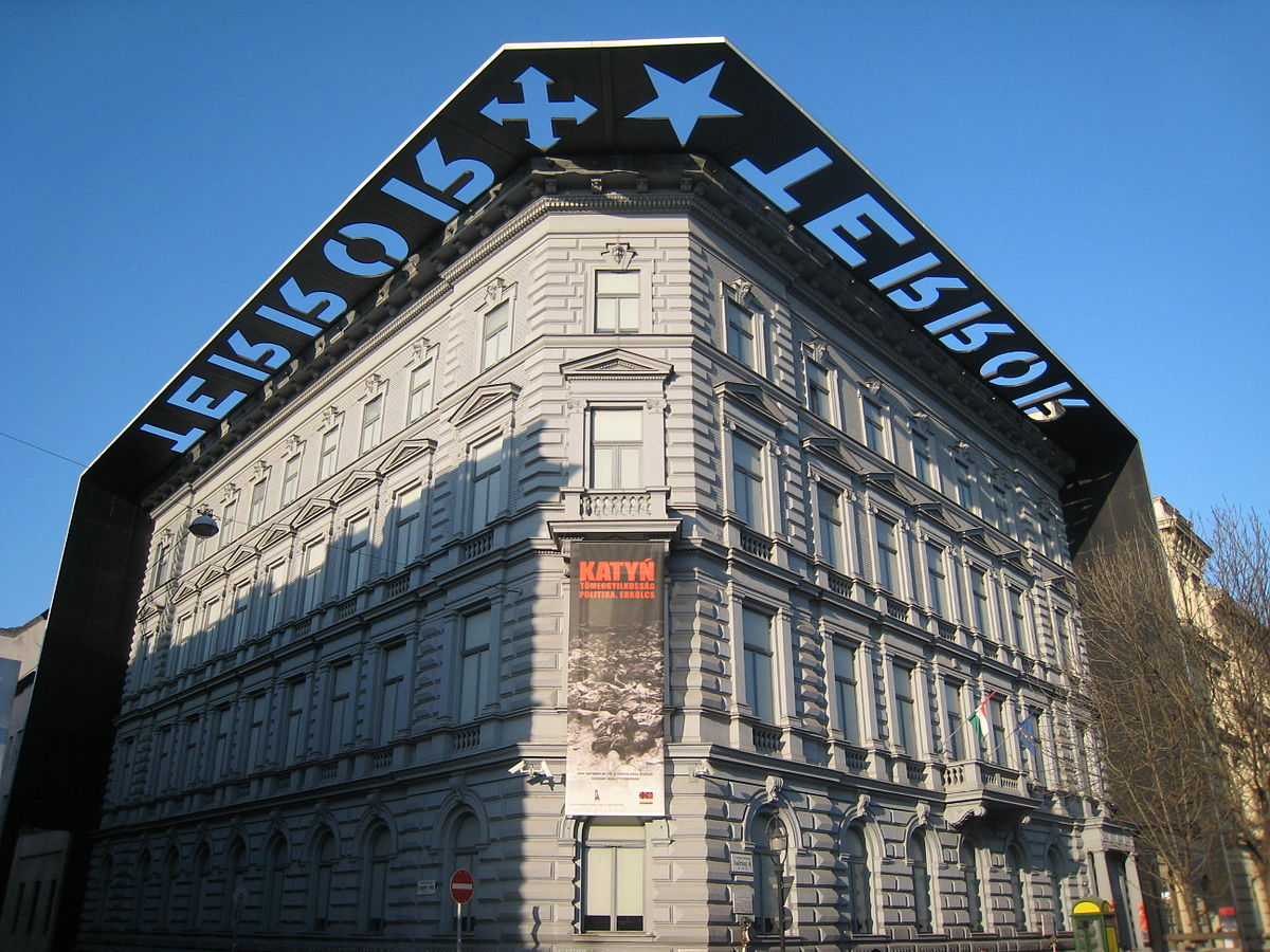 Image result for house of terror budapest