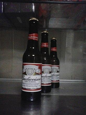 Budweiser trademark dispute - Image: Budweiser bottle