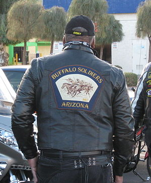 Colors (motorcycling) - Buffalo Soldiers Motorcycle Club colors. The Buffalo Soldiers are named after the famed 10th Cavalry regiment of the United States Army, formed on September 21, 1866.