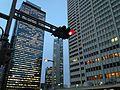 Buildings in West Shinjuku Area at dusk 6.JPG