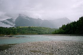 Bulkley River flowing into Skeena River near Hazelton, British Columbia.jpg