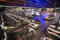 Bumper cars, Fun Fair at EUR, Rome - 2862.jpg