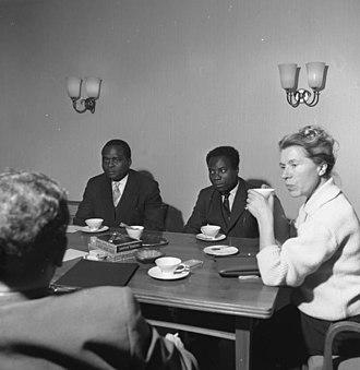 Jean Bolikango - Image: Bundesarchiv B 145 Bild F007598 0005, CDU Geschäftsstelle Bonn, Besuch aus dem Kongo