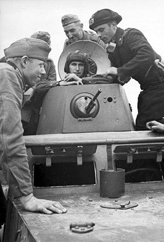 German–Soviet Credit Agreement (1939) - German and Soviet soldiers talk in Brest (Sept. 20, 1939).