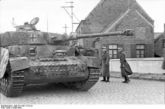 Wehrmacht forces for the Ardennes Offensive - Despite a decrease in production of specific tank models, in 1944 more tanks were produced than in 1943