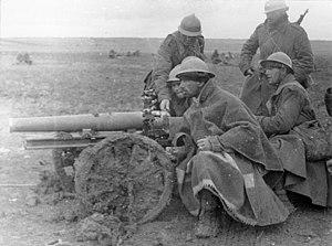 Imagen del Bundesarchiv sobre la Batalla de Guadalajara