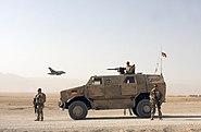 Bundeswehr Dingo outside of Mazar-e-Sharif
