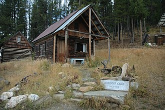 National Register of Historic Places listings in Idaho County, Idaho - Image: Burgdorf, Idaho, Old Home