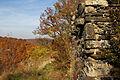 Burgruine Ödes Schloss - Westliche Außenmauer.jpg