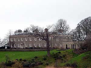 Listed buildings in Burrow-with-Burrow - Image: Burrow Hall East facade