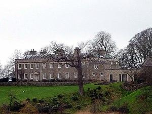 Burrow Hall - The east facade