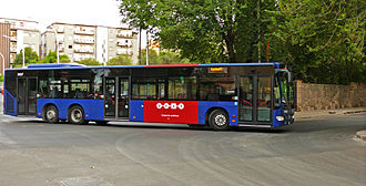 A bus of Sardinia public transport authorities (Arst) in Sassari Bus ARST mercedes benz citaro 2.jpg