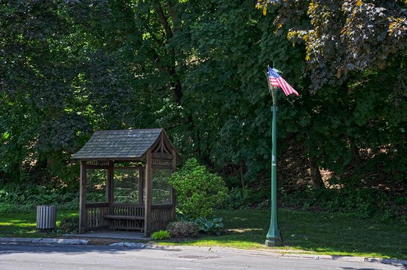 File:Bus Stop in Briarcliff Manor.tiff