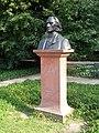 Bust of Franz Liszt in Łazienki Park.jpg