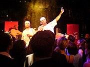 Busta Rhymes performing in 2006.