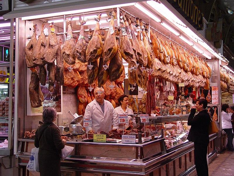 File:Butcher shop in Valencia.jpg
