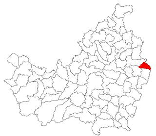 Buza, Cluj Commune in Cluj, Romania