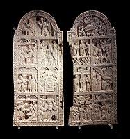 Byzantine Empire Christological diptych 01.jpg
