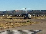 C-17 landing at Comodoro Rivadavia (37695334275).jpg