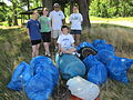 CA Volunteers clean the beach (5857565406).jpg