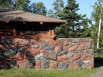 Gooseberry Falls State Park - CCC built shelter in Gooseberry Falls State Park