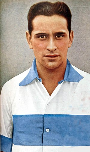 Club de Gimnasia y Esgrima La Plata - Arturo Naón, all-time topscorer with 95 goals.