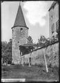 CH-NB - Avenches, Château, Tour, vue partielle - Collection Max van Berchem - EAD-7170.tif