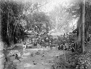 Klaten Regency - Market in Klaten during colonial period.