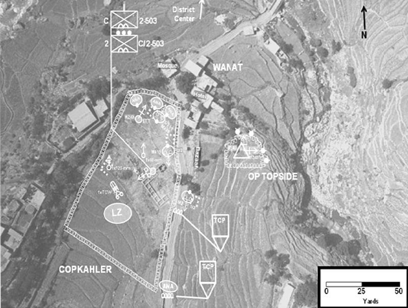 Op Restrepo Map Combat Outpost Kahler   13