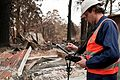 CSIRO ScienceImage 10618 Conducting bushfire research at Kinglake after the Black Saturday bushfires.jpg