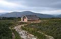 Cabana neolítica reconstruïda, Museu de la Valltorta.JPG
