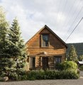 Cabin in Crested Butte, a town heavily populated during ski season located high in the Rocky Mountains in Gunnison County, Colorado LCCN2015633512.tif