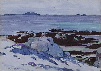 Francis Cadell (artist) - Image: Cadell Iona looking North