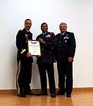 Cadet Col. Josiah Acosta presented with the Gen. Carl A. Spaatz Award.jpg