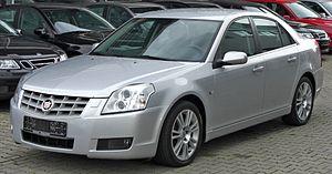 Car platform - Cadillac BLS