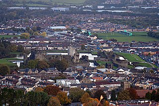 Caerphilly Human settlement in Wales