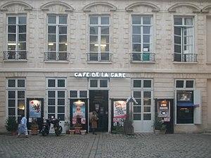 Caf de la gare wikip dia for Jardin 41 rue du temple