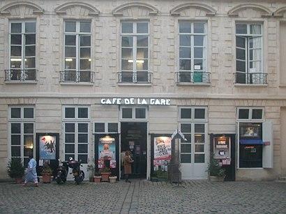 Comment aller à Le Café De La Gare en transport en commun - A propos de cet endroit