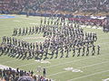 Cal Band performing pregame at 2008 Big Game 13.JPG