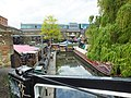 Camden Lock Regent's Canal Basin from Suffolk Walk bridge 0886.JPG