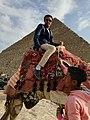 Camel ride in Pyramids of Egypt.jpg