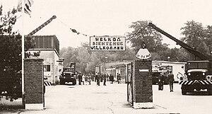 Belgian Forces in Germany - Belgian base near Eschweiler in 1969