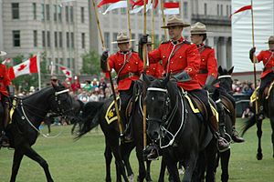Musical Ride - Image: Canada Day Musical Ride