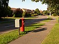 Canford Heath, postbox No. BH17 16, Culliford Crescent - geograph.org.uk - 1398584.jpg