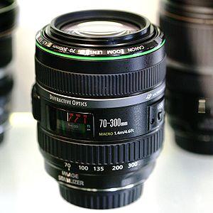 Canon EF 70–300mm lens - Image: Canon 70 300 DO MG 2020