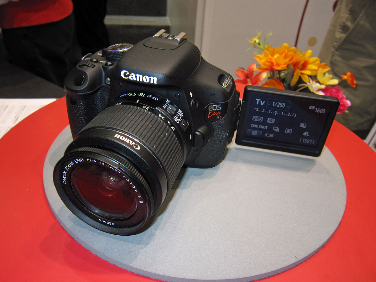 Canon eos 600d wikipedia for Housse canon eos 600d