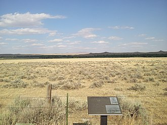 National Register of Historic Places listings in Johnson County, Wyoming - Image: Cantonment Reno