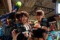 Capcom promotional models at Tokyo Game Show 20110915.jpg